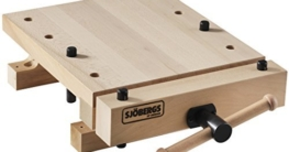 Sjobergs SJO-33309 Smart Workstation Pro Vise European Beech Workbench Top by Sjobergs